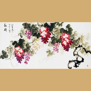中国书画家协会会员 著名女画家刘翠莲老师作品――秋韵