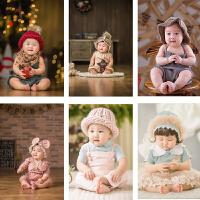 新款春季儿童摄影服装韩版影楼拍照服饰 百天1岁宝宝照相童装