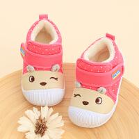 女宝宝鞋子0-1岁学步鞋6-12个月春秋婴儿鞋软底1-2男宝宝布鞋冬季