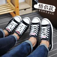 回力帆布鞋男春季单鞋低帮经典款回力男鞋黑白色情侣鞋学生鞋板