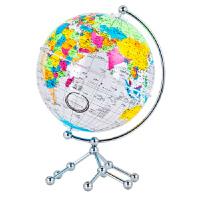 【正版现货】博目地球仪:20cm中英文彩色政区透明地球仪 北京博目地图制品有限公司 9787520412681 中国地