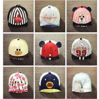 婴儿帽子3-6-12个月夏天鸭舌帽男女童薄款棒球帽宝宝遮阳帽1-2岁
