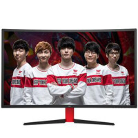 惠科(HKC)G27 27英寸1800R曲面144Hz刷新专业电竞游戏显示器