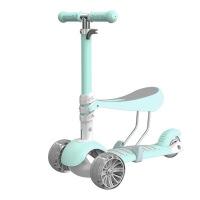 巨森2-3-6岁可坐三轮三合一儿童滑板车小孩滑滑车儿童车玩具