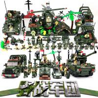 男孩兼容乐高积木军事系列飞机坦克6-8-12岁拼装男孩礼物兼容乐高积木玩具婴儿玩具