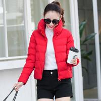 羽绒女短款新款潮韩版冬季棉衣宽松加厚面包服小款棉袄