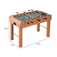 桌上足球�C5桌面6�\��7足球桌游�蚺_9桌游�和�玩具男孩4-10�q