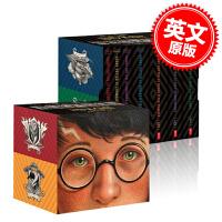 现货 哈利波特20周年纪念版套装 英文原版 Harry Potter Books 1-7 Special Edition