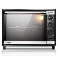 【支持礼品卡支付】长帝CKTF-32GS家用烘培电烤箱32L上下独立控温立体热风循环 烤箱