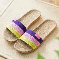 夏季家居拖鞋女夏天居家用室内情侣厚底男士地板凉拖鞋