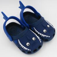 洞洞鞋儿童 女童凉拖鞋 透气防滑包头男童宝宝可爱卡通沙滩鞋