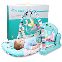婴儿脚踏钢琴音乐毯男女宝宝玩具架器3-6-12个月1岁