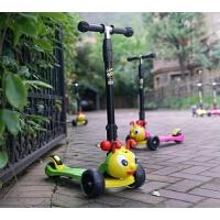 儿童滑板车轮宝宝滑滑车男女小孩闪光踏板车