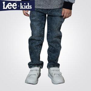LEE童装 秋季新款男童时尚休闲长裤中大童儿童直筒百搭牛仔裤