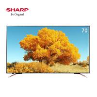 夏普(SHARP)LCD-70SU570A 70英寸4K超高清智能网络液晶平板电视机 70�即笃敛实�