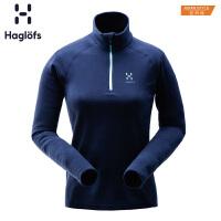 Haglofs火柴棍女款户外运动保暖透气轻量抓绒衣603393 亚版