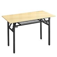简易折叠桌办公桌会议桌培训桌长条桌书桌IBM桌快餐书法学习户外