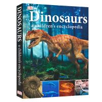 【首页抢券300-100】DK英文原版 Dinosaurs A Children's Encyclopedia 儿童恐龙