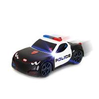 触动赛车 宝宝警车汽车跑车儿童电动玩具车