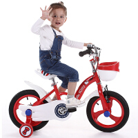 儿童自行车女童小孩宝宝童车女孩单车12/14/16寸2-3-6岁车