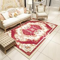 欧式地毯客厅卧室茶几垫沙发床边毯满铺地毯北欧美式长方形定制 2.0*3.0米 加密