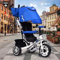 儿童脚踏三轮车宝宝童车玩具车小孩自行车手推车