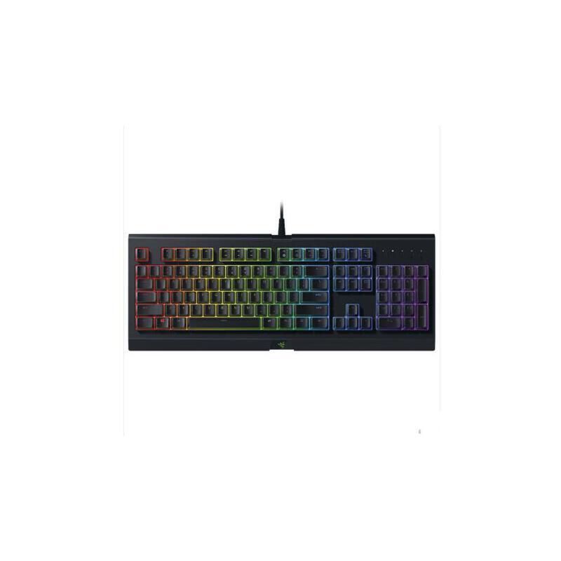 雷蛇(Razer)萨诺狼蛛幻彩版 RGB背光灯薄膜游戏键盘 绝地求生吃鸡键盘