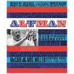 《Altman 电影导演:罗伯特・奥特曼》 英文电影原版书籍