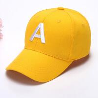 儿童帽子男童4-8岁春秋棒球帽小孩帽子2-4岁女宝宝夏天薄款鸭舌帽 2-12岁可调节宝宝帽子均码