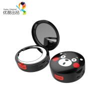熊本熊美妆移动电源可爱卡通化妆镜充电宝通用女生便携创意礼物