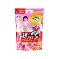 【网易考拉】【L码】GOO.N 大王 女宝宝用 游泳纸尿裤 防水透气 3片