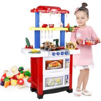 过家家玩具女孩做饭煮饭厨房玩具套装儿童做饭厨具餐具套装