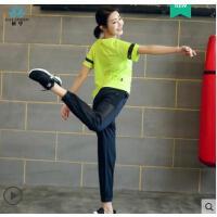 户外时尚宽松运动服晨跑套瑜伽服新款装女初学者健身服