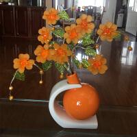 酒柜装饰品摆件家居饰品客厅玄关餐厅创意摆设现代简约小工艺品 姜黄色 B款一件