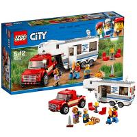 【当当自营】LEGO乐高亲子野营房车 60182