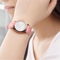 夜光韩版女表皮带时尚潮流简约学生手表女孩时装石英女士手表