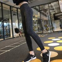 高腰提臀健身裤女速干弹力紧身透气翘臀瑜伽裤跑步运动裤