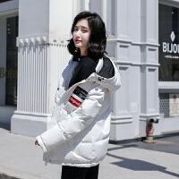 【1件3折 到手价519元】高梵羽绒服女短款连帽白色宽松休闲保暖冬季加厚外套潮