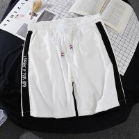 夏天运动短裤男士宽松五分裤子休闲中裤沙滩裤韩版潮流大裤衩