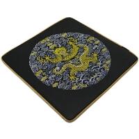 中国丝绸鼠标垫公司聚会活动礼品送老外国外朋友出国礼物定制