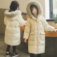 儿童棉衣2018新款冬季韩版女孩洋气棉袄外套