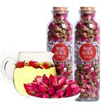 买1送1 陌上花开玫瑰花茶 平阴玫瑰干玫瑰花蕾可食用玫瑰花茶罐装 60g/罐