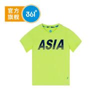 361度童装男童短袖T恤中大童上衣2018年夏季新款衣服K51833202