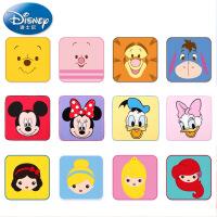 迪士尼Disney12条装纱布方巾礼盒 纯棉手帕 宝宝毛巾 卡通 柔软