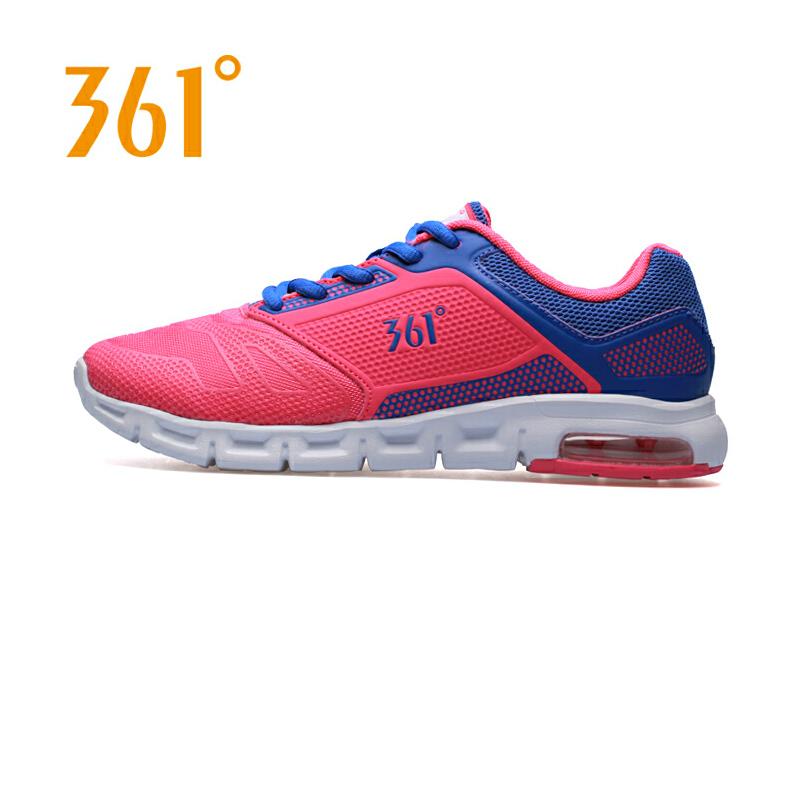 361度女鞋正品跑步鞋新款361翼能运动跑鞋轻便透气