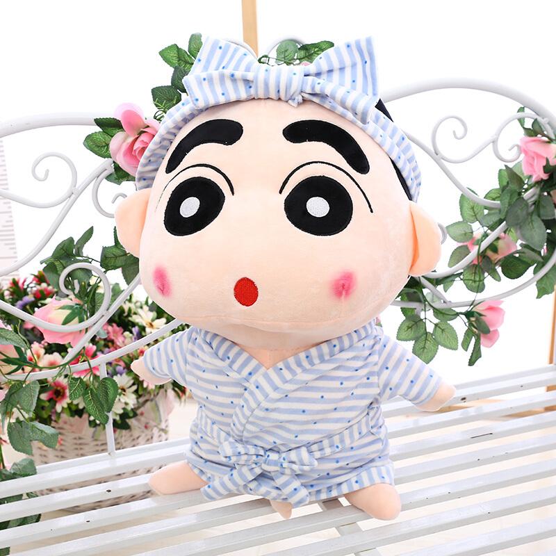 可爱蜡笔小新公仔玩偶布娃娃送女生毛绒玩具创意搞怪生日礼物抱枕