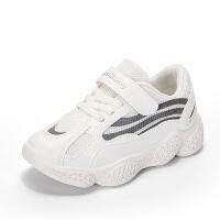 女童运动鞋2020年新款春季儿童小白鞋白色春款童鞋