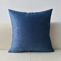 沙发抱枕套不含芯家用正方形色抱枕靠垫床头大靠背客厅飘窗靠垫T