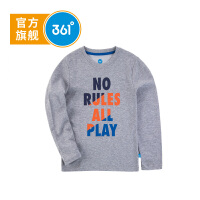 【开学季到手价:41.7】361度童装 男童长袖T恤儿童针织衫秋季K51813253