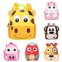 儿童书包幼儿园1-3-6岁轻便可爱男女孩潜水料防水包包双肩背包
